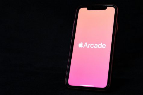 Apple Arcade is a monthly subscription service costing $4.99 with a one-month free trial for new users.