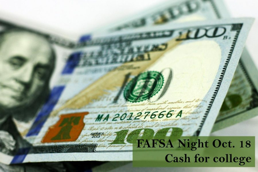 FAFSA night to assist students Friday, Oct. 18