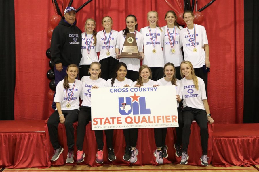 The girls cross country team brought home the regional championship and qualified for state at the Oct. 28 regional meet.