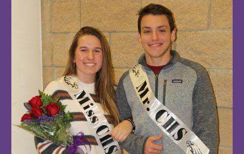 Hildinger, McBroom named Mr. and Miss CHS