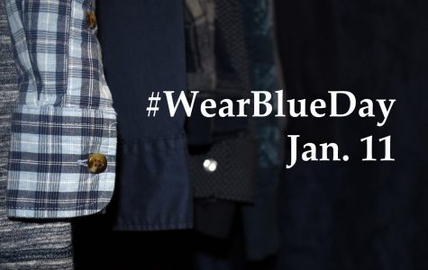 #WearBlueDay to bring awareness to human trafficking Jan. 11