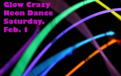 Glow Crazy Neon Dance set for Feb. 1