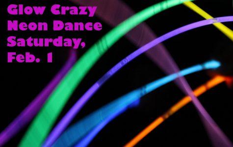 Glow Crazy Neon Dance set for Feb. 1