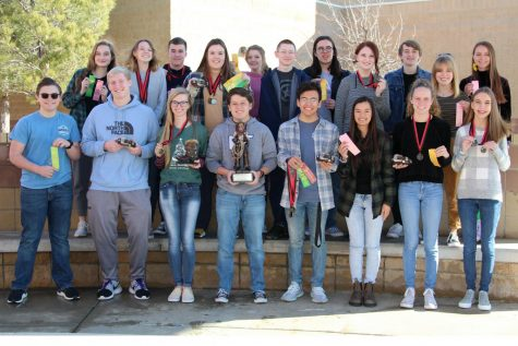 UIL academic team wins sweepstakes at Red Raider Classic