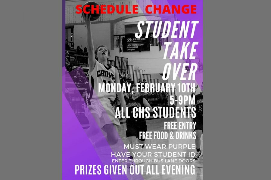The+Student+Takeover+was+originally+scheduled+for+Tuesday.