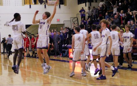 Boys basketball finishes season as district champions