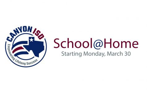 The CISD School@Home website opened Sunday, March 29 at 10 a.m., allowing students to view class lesson plans.