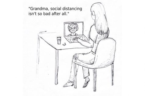 Social distancing to ease suffering