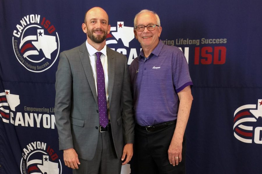 Canyon ISD has chosen Tate Lombard to follow his father, Joe Lombard, as the girls head basketball coach at Canyon High School.