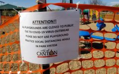 Along with non-essential businesses, Canyon parks have been closed until further notice.