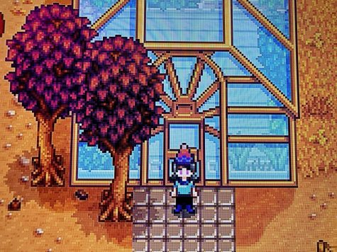 The greenhouse is one of the rewards the player will receive for working to fix the community center.