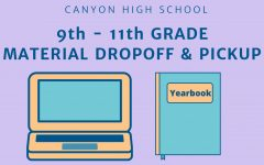 Drop-off times for students are organized by last name.