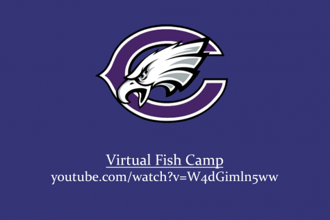 Fish Camp is typically held annually and in-person for incoming freshmen to learn about Canyon High.