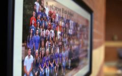 The class of 2021 senior photo will be the 43rd to be exhibited in Canyon High's upper commons.
