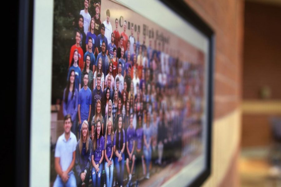 The class of 2021 senior photo will be the 43rd to be exhibited in Canyon High