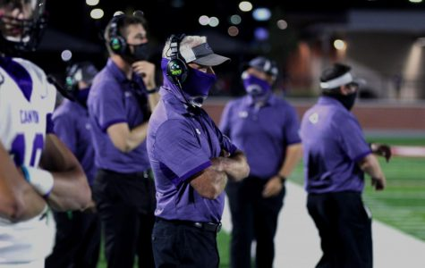 Coach Bryant claims 150th win as head coach at Canyon High. The #7 ranked Eagles defeated Midland Greenwood 48-0 Friday, Sept. 25 at Happy State Bank Stadium.