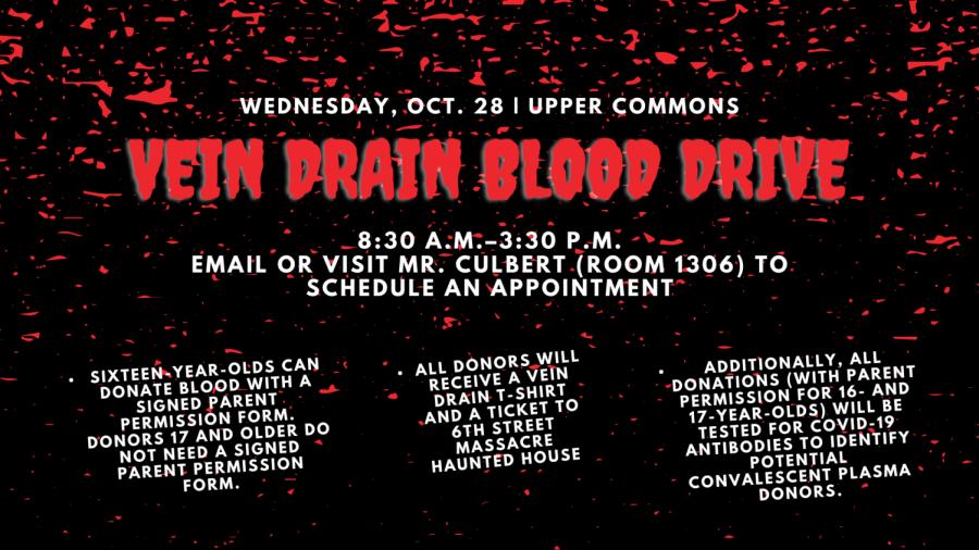 iConnect - Slide - Vein Drain Blood Drive