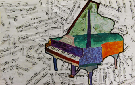 Clark comments on how she has progressed on the piano throughout her life after playing the instrument for ten years.