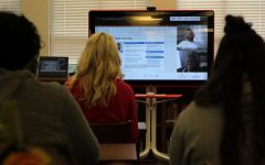 Canyon High School's iConnect students discuss jobs in the tech industry with Dell representatives from across the globe over a Google Meet. They will continue to meet with a different representative each month for the rest of the school year, each time learning about business operations regarding Dell.