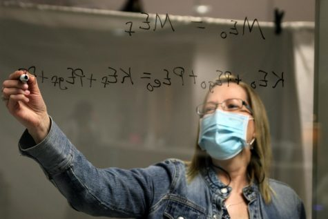 "Canyon High staff members voted physics teacher Tara Sloan as campus Teacher of the Year, which was announced Monday, Jan. 18. Sloan said teaching is her calling. ""I don"