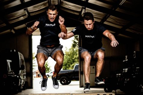 "Senior Rafe Butcher and junior Braxton Butcher began their fitness brand, MadMan, in 2020 after the divorce of their parents. Under the instruction of their uncle, the pair trained to not only better their bodies, but also their minds. ""It's something that impacted me and my little brother so much that there"