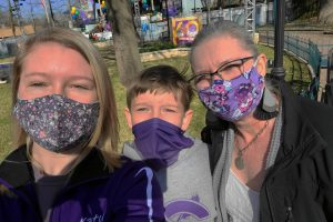Upon entering Six Flags Over Texas, Gill's sister Katy, brother Timothy and mother Kristina begin a fun-filled family day. As they were leaving the park people ran back in the gates, running from an active shooter situation.