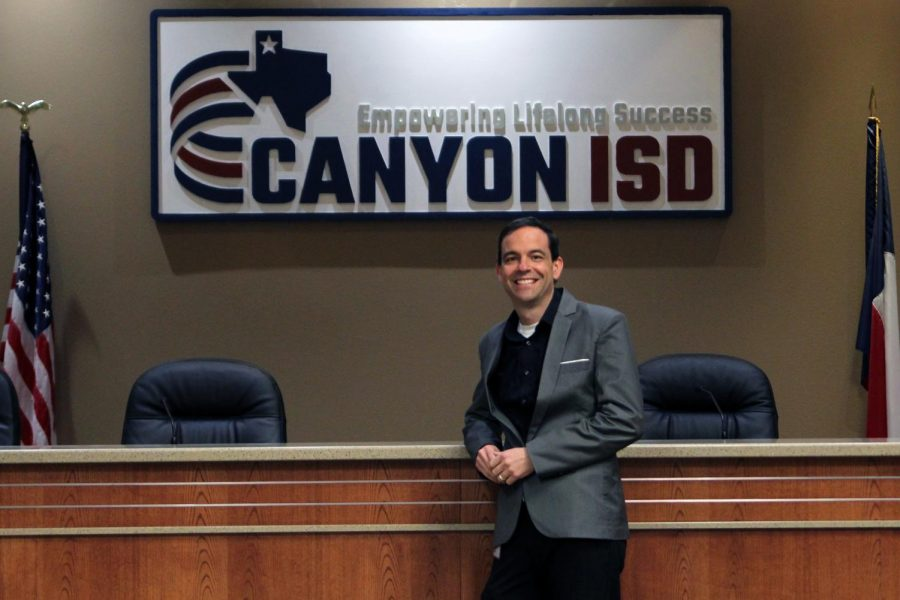 This semester, Danny Parrot was appointed as Chief technology officer, taking the place of Michael Keough, who left to work at Region 16. Parrot previously worked at Region 16 for 15 years, where he helped schools deploy technology in classrooms and around campus.