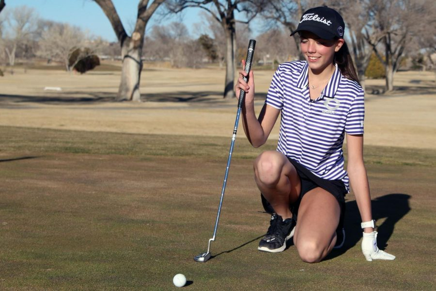 Sophomore Shaylin Schulte participates in basketball, track and golf in addition to standing as the sophomore class valedictorian. In her freshman year, Schulte was ranked second, but became first after the second semester of last year.