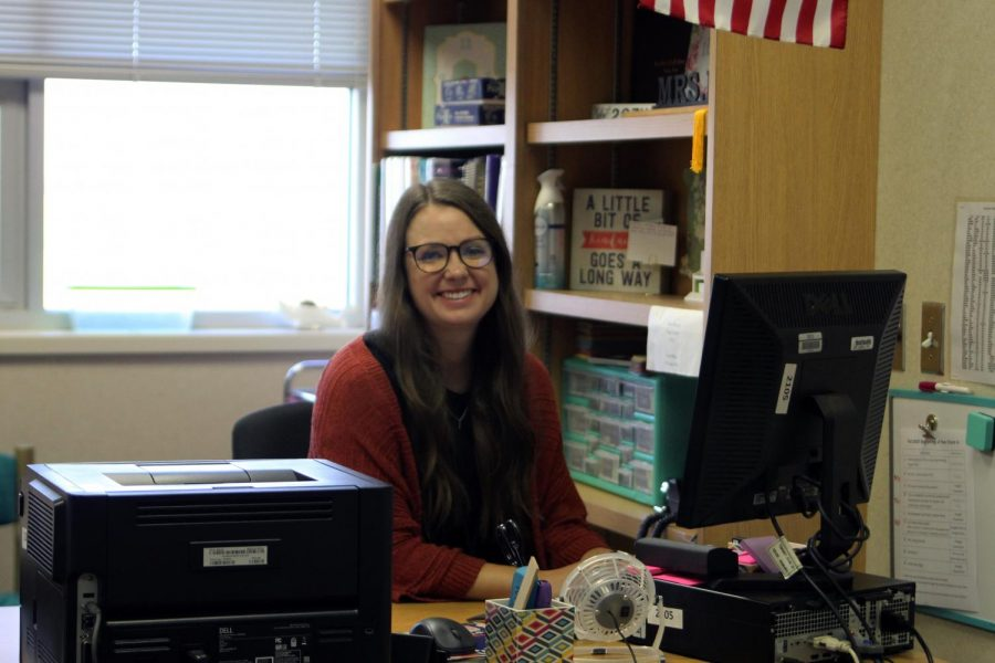 Kelsey Ray transferred from Randall High School, and will be teaching honors Algebra 2. I am looking forward to getting to know my students and the staff at CHS, Ray said. Everyone has been so welcoming and helpful. I am excited to challenge my students and help them be the best they can be.