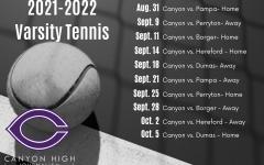 2021 Varsity Tennis roster, schedule