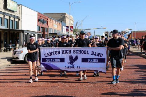 """The Soaring Pride Bands March-A-Thon was Aug. 21. Students are still actively fundraising for band fees, and those willing can donate through the end of this week. """"I have seen March-A-Thons in other communities not be as effective as the one here, and I think it has everything to do with the way Canyon supports its organizations within the city,"""" Rath said. """"Canyon is uniquely supportive of something like the March-A-Thon. In other communities, the March-A-Thon is just an activity. In Canyon, this is something that the community hangs their hats on, looks forward to and wants to know is going on."""""""