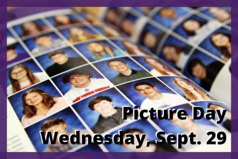 """Picture day will take place Wednesday, Sept. 29 for freshmen, sophomores and juniors during their English classes. You don't have to dress up if you don't want to,"""" yearbook editor Ashlyn Harvell said. Just wear what you're confident in and know that it's going to be in the yearbook for a long time."""""""
